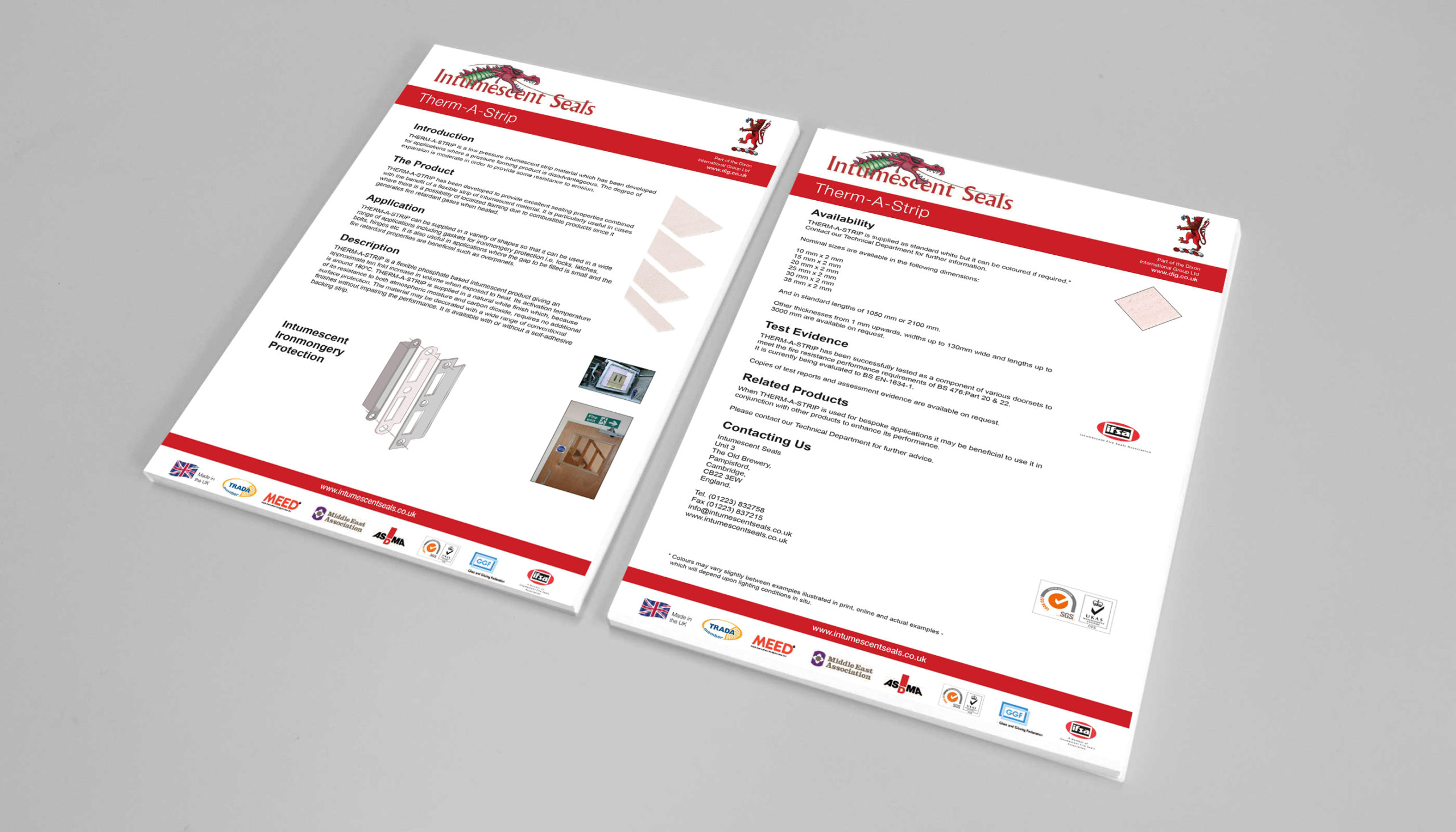 Intumescent Seals Technical News Example Image